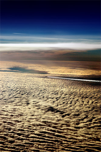 30,000ft above Germany