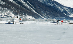 Samedan Airport, Switzerland