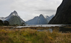 Milford Sound, New Zealand Nikon D700 18mm - 1/320 - f/9,0 January 6th, 2012 09 : 15 PM